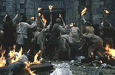 movie Luther 2003 violent torching mob 01crop