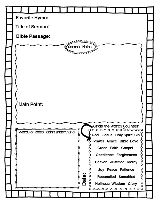 Sermon Notes_10+